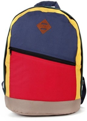 Walletsnbags Smart Multi Colour Haversack 24 L Medium Backpack