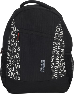 GERMANY TOURISTER GT01BPPTBLKALPWHT 25 L Backpack