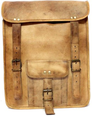 Leather Smith India Handcrafted Leather Backpack 2.5 L Backpack