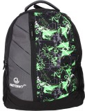 Justcraft Glaxy 25 L Backpack (Green)