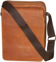 Kan Tan Hunter Leather Backpack/Messenger Bag For Men and Women 7 L Backpack