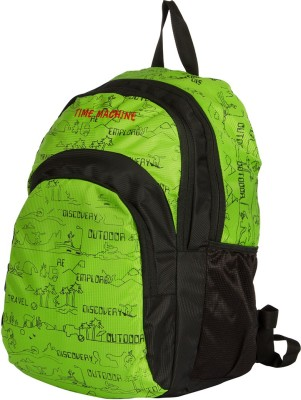 Time Machine Wanderer Green Laptop/Casual 37 L Backpack