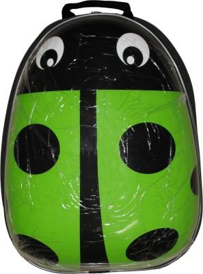 DickyBird Hard Shell Ladybug Waterproof School Bag 15 L Medium Backpack