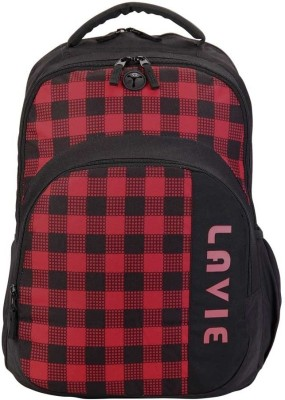 Lavie Alpha Super spacious Backpack(Red)