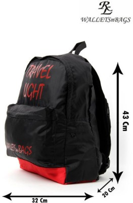 Walletsnbags Ultra Light Travel Haversack 17 L Small Backpack