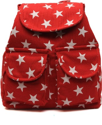 Pochette Girls & Women Red 10 L Backpack