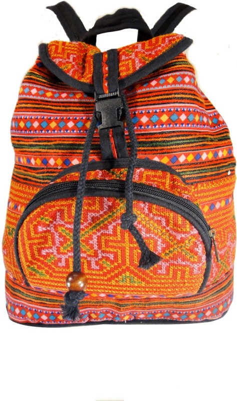 Praniti Multicolor Pr-151 6 L Backpack(Orange)