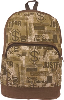 BagsRus Canvas 18 L Backpack