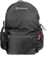 Harissons Plush 20 L Backpack(Black) best price on Flipkart @ Rs. 699