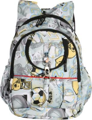 U United White Football 13 L Backpack