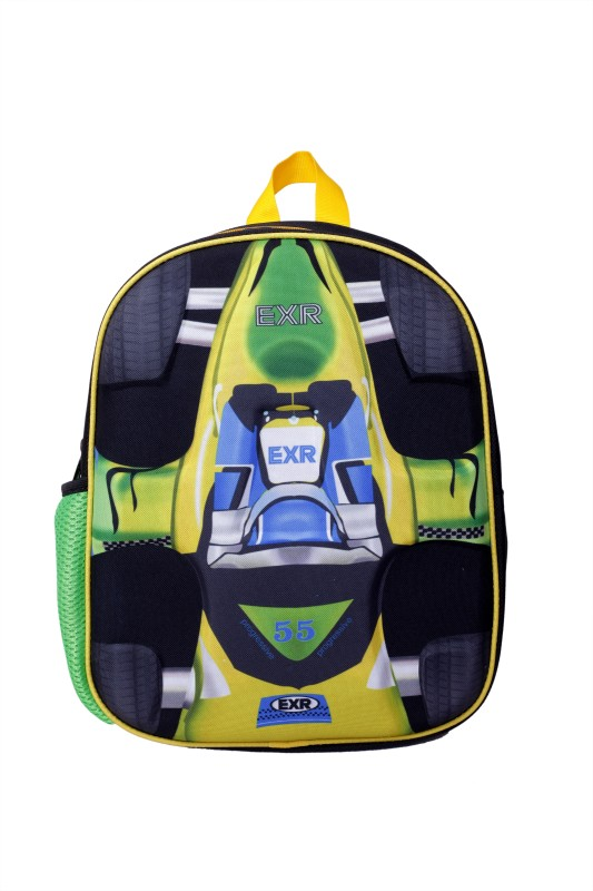 Bags R Us Formula 1 EXR - Small 9 L Backpack(Yellow)