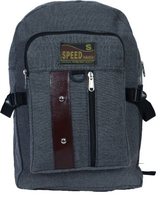 Sk Bags TWO BUTTON REXIN PATTI (GY0 27 L Backpack