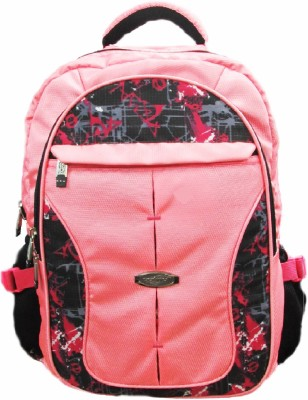 Cosmo Pink Mixed Color 13 L Medium Laptop Backpack