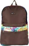 Bags R Us Multi 17 L Backpack (Brown)