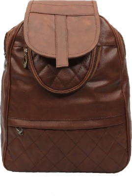 Pochette Men & Women Brown 10 L Backpack