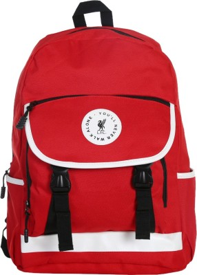 Liverpool FC Sentry Red & White Polyester 23 L Backpack