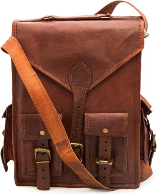 pranjals house Messenger bag and 15 L Laptop Backpack