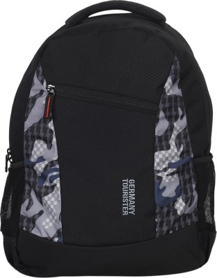 GERMANY TOURISTER GT01BPPTBLKGRY 25 L Backpack