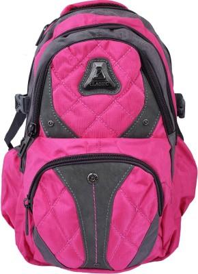 Super Drool Pink Trek and Travel Series Backpack 8 L Backpack
