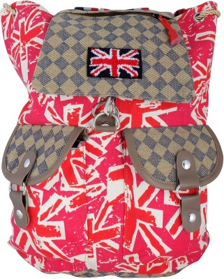 Super Drool Red Great Britain 12 L Backpack