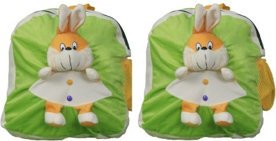 Pandora Kids School Bag - 2 Pack of Green Rabit 5 L Backpack