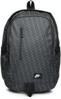 Nike All Access Soleday Printed 25 L Laptop Backpack(Black)