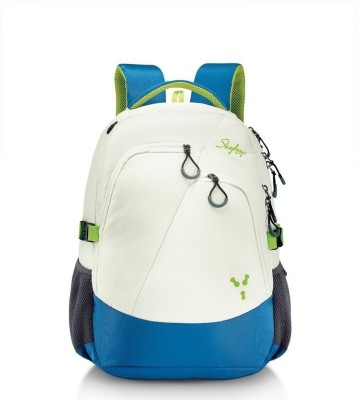 Skybags Crew 03 White 40 L Laptop Backpack