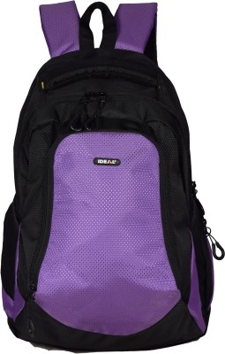 Ideal Aarcher Purple and Black 20 L Laptop Backpack