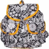 Vogue Tree BLKFLEAFOCR 10 L Backpack (Bl...