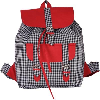 Vogue Tree Redblkchx 1.5 L Small Backpack