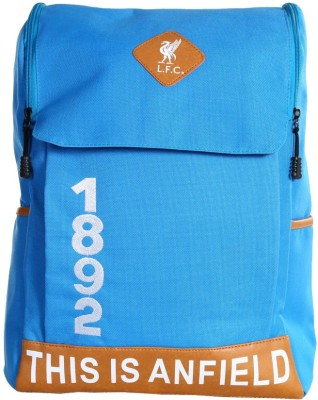 Liverpool FC Blue Polyester 18 L Backpack