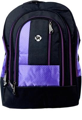 Sk Bags ARL 3 L Shape Purple 27 L Laptop Backpack