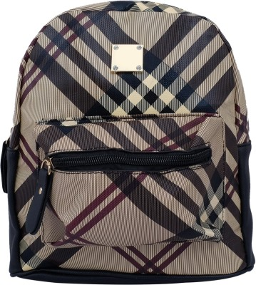 Super Drool Brown Mesh Stylish 2 L Backpack