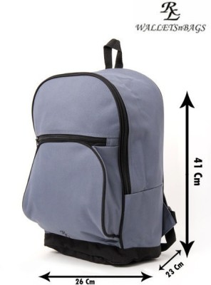 Walletsnbags Premium Double Strap Haversack 21.5 L Medium Backpack