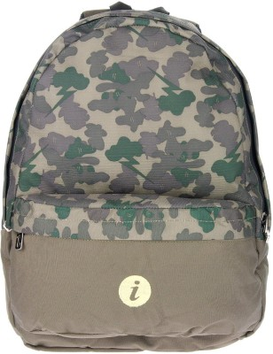 i Printed Spacious 16 L Medium Backpack