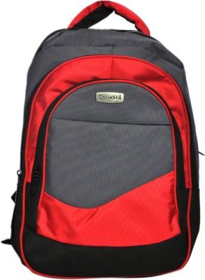 Scholex Red & Black School Backpack 30 L Backpack