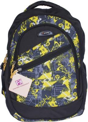 Fashion Knockout Lemon Net 5 L Laptop Backpack