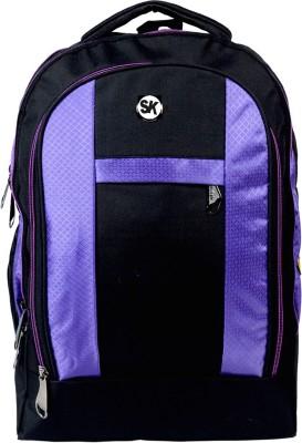 Sk Bags Arl 3 H Shape Purple 27 L Laptop Backpack