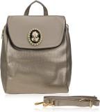 Zeva Designer 7 L Backpack (Grey)