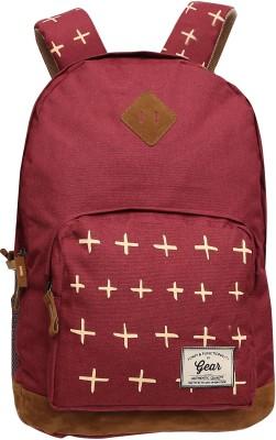 Gear Freshers Backpack Maroon Brown 25 L Backpack
