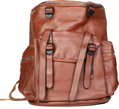 AVANEESH TRENDY BROWN 10 L Backpack
