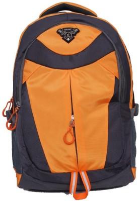 Stryker Stryker 31 Liter Laptop Bagpack - Grey - Orange 31 L Laptop Backpack