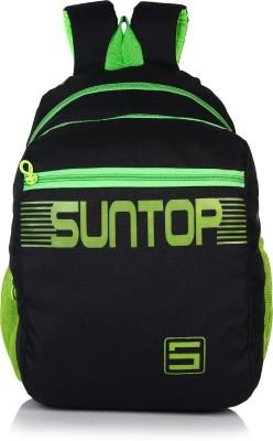 Suntop Boost 16 L Backpack(Fluorescent Green & Black)