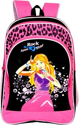 Avon Rockstar Black & Pink 25 Litres 25 L Backpack