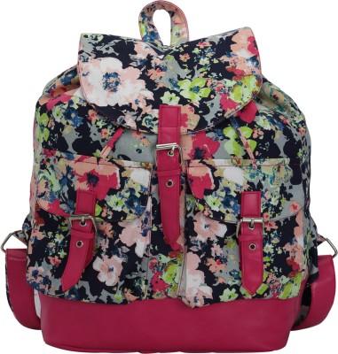 Vogue Tree Flwrpink 3 L Medium Backpack