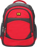 Elegant BP10 3 L Backpack (Grey, Red)