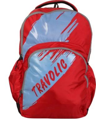 Travolic VOLGA Red & Blue 30 L Backpack
