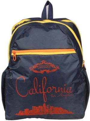 Via Harp California Blue BP 12 L Laptop Backpack