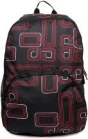Wiki by Wildcraft Unisex Black/Red 20 L Large Backpack
