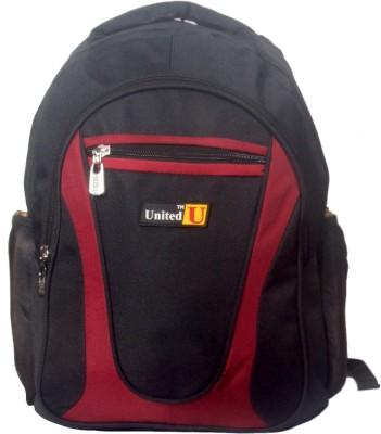 United Bags Black Macroman 20 L Medium Backpack